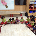 Celebrated International Ice-cream Day by Pre-primary Section at WITTY WORLD (2015-16)