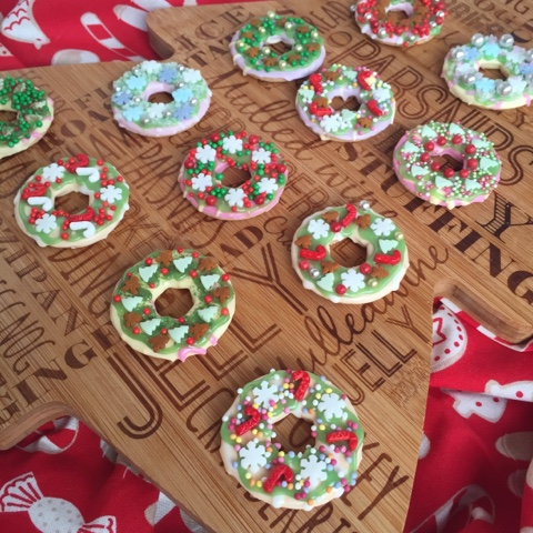 Christmas wreath biscuits october 2018 sale bbc food recipes christmas wreath biscuits forumfinder Choice Image