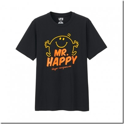 UNIQLO Mr. Men Little Miss UT Graphic T-Shirt man 04
