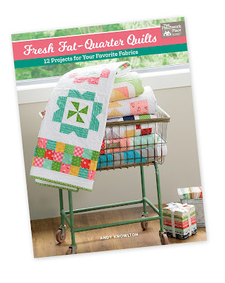 Fresh Fat Quarter Quilts book by Andy Knowlton of A Bright Corner - so many great quilt ideas all fat quarter friendly
