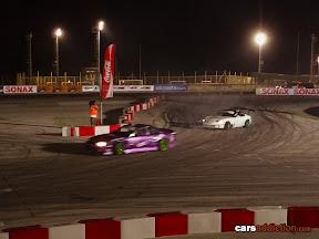 Nissan Silvia battleing with Mazda Miata