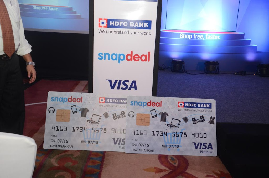 SnapDeal HDFC Bank Credit Card Lanuch - 6