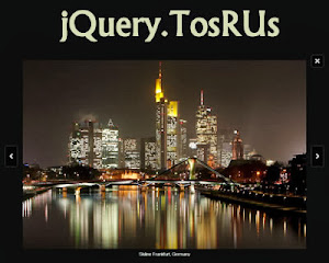 jQuery.TosRUs lightbox alternative for scrolling/swiping