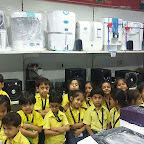Field Trip to Electronic Showroom (Sr. KG.) A & B 30-7-2015