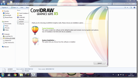 Install CorelDRAW Graphics Suite X5 - 7