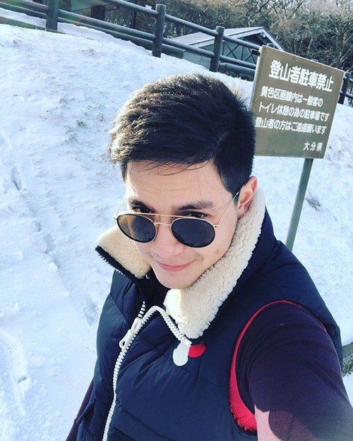 Alden Richards in Japan