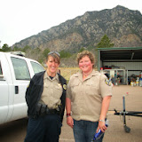 Thank you, Cheyenne Mountain State Park staff!