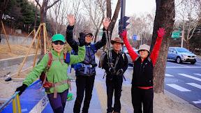 서울 둘레길 1구간   도봉산역 -화랑대역