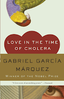 Love in The Time of Cholera by Gabriel García Márquez, magical realism, Colombia, latin america, romance, historical fiction, literary fiction