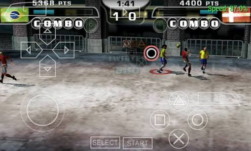 Download Fifa Street 2 PPSSPP/ISO