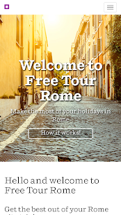 Free tour Rome- screenshot thumbnail
