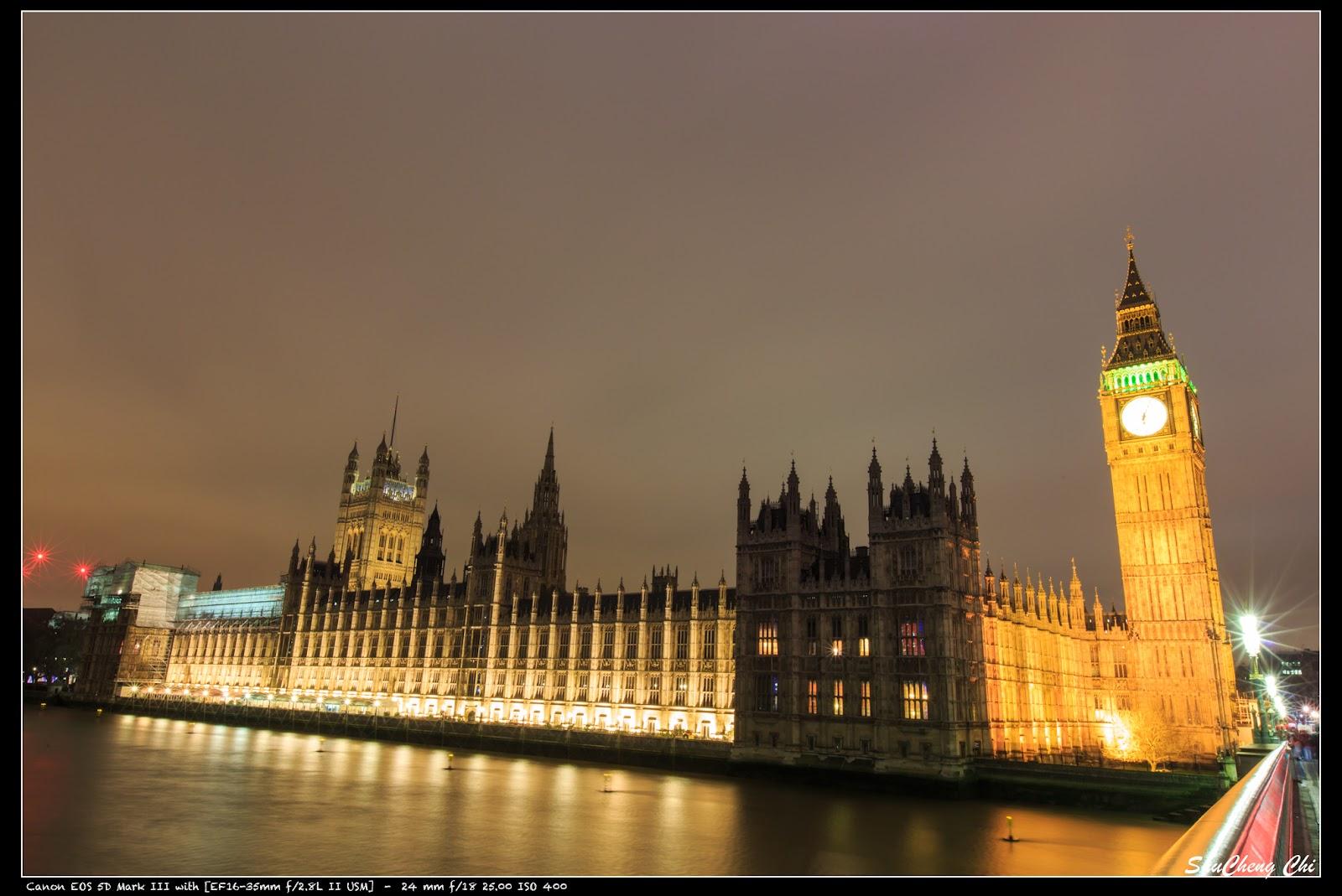 特愛日本 瘋旅行: 2015 歐洲自助蜜月 [景點] Thames River at Night (Westminster Bridge) 泰晤士河夜景 (西敏橋周邊)