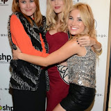 WWW.ENTSIMAGES.COM -    Ashley James and Sian Welby    at      Whistle and  Bango  launch party at Wolf and Badger, London October 23rd 2014Ashley James, Ania Kubow and Rosie Parkes are showcasing their new brand and bracelets at a celebrity studded press launch                                                 Photo Mobis Photos/OIC 0203 174 1069