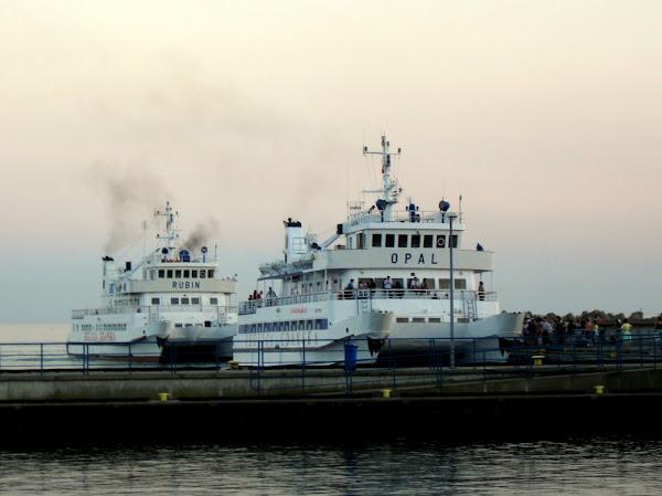tramwaje wodne na Hel - z Gdańska i Gdyni
