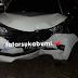 Laka Lantas Tunggal, Mobil Tabrak Tembok Jembatan Sukawayana Palabuhanratu