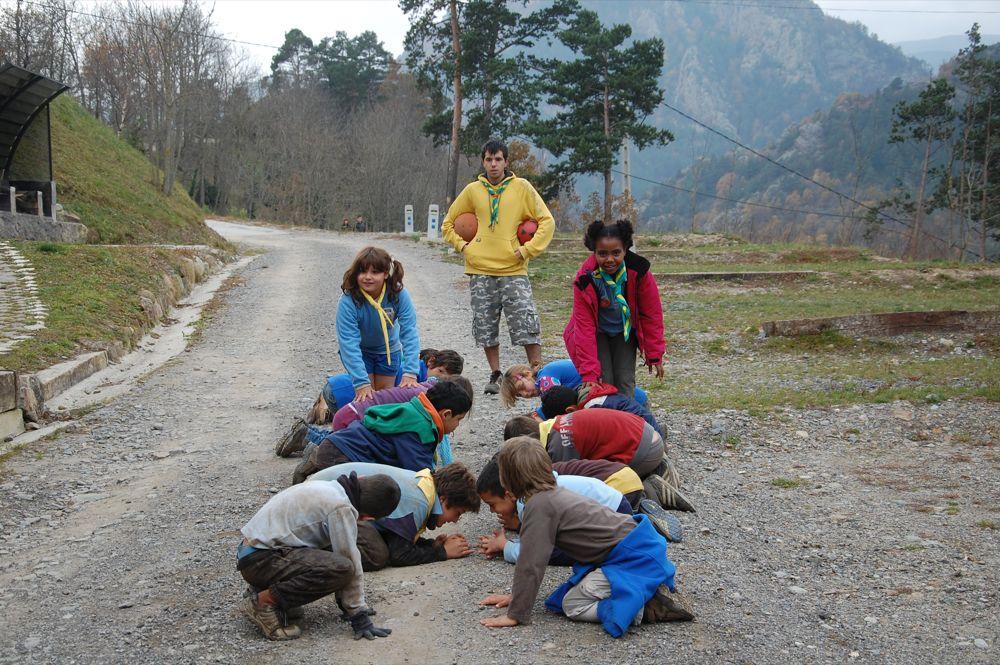 Sortida Castors i Llops a la Roca del Secut 2010 - DSC_0787.JPG