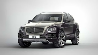 The new Bentley Bentayga Mulliner