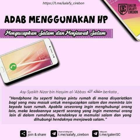 Adab guna handphone