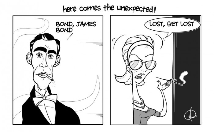 James Bond Unexpected Answer