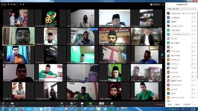 Sekjen PP GP Ansor Apresiasi Ansor Sumbar Harlah Ditengah Wabah Covid-19.