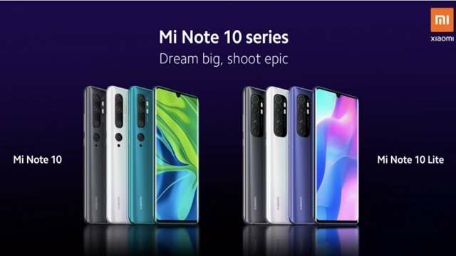 Mi Note 10 Lite will be launched in the global market on April 30, the company revealed