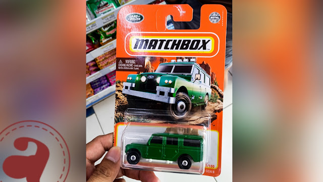 MATCHBOX 1965 LAND ROVER GEN II SAFARI