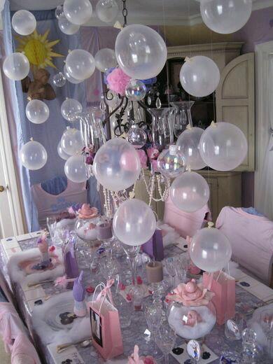 M s y m s manualidades decora tu fiesta con globos colgantes - Mira y decora ...