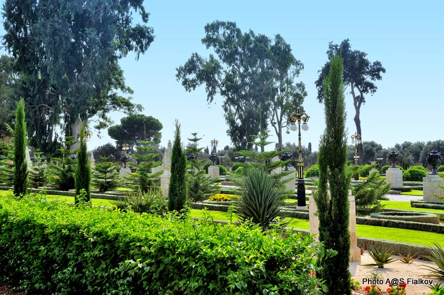 Сады Бахаи в Акко. Экскурсия в Акко. Гид в Израиле Светлана Фиалкова