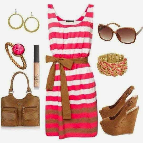 outfit ideas with pretty dresses 2015 2016