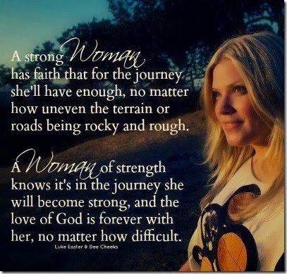 A Strong Woman Has Faith