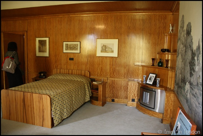 Eltham Palace - Stephen's Bedroom
