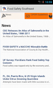 Food Safety Southeast- screenshot thumbnail