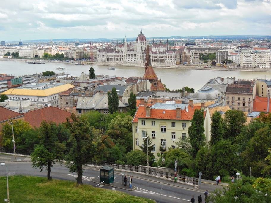Budapest desde la zona del Bastión