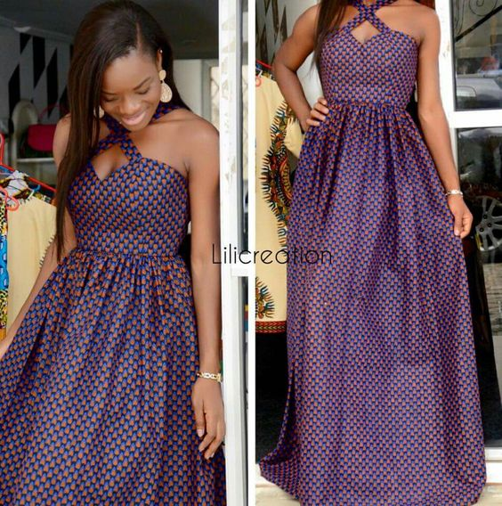 INVENTIVE AND TRENDY MOST RECENT ANKARA OUTFITS FOR WOMEN_ANKARA LONG OUTFITS DESIGNS 2