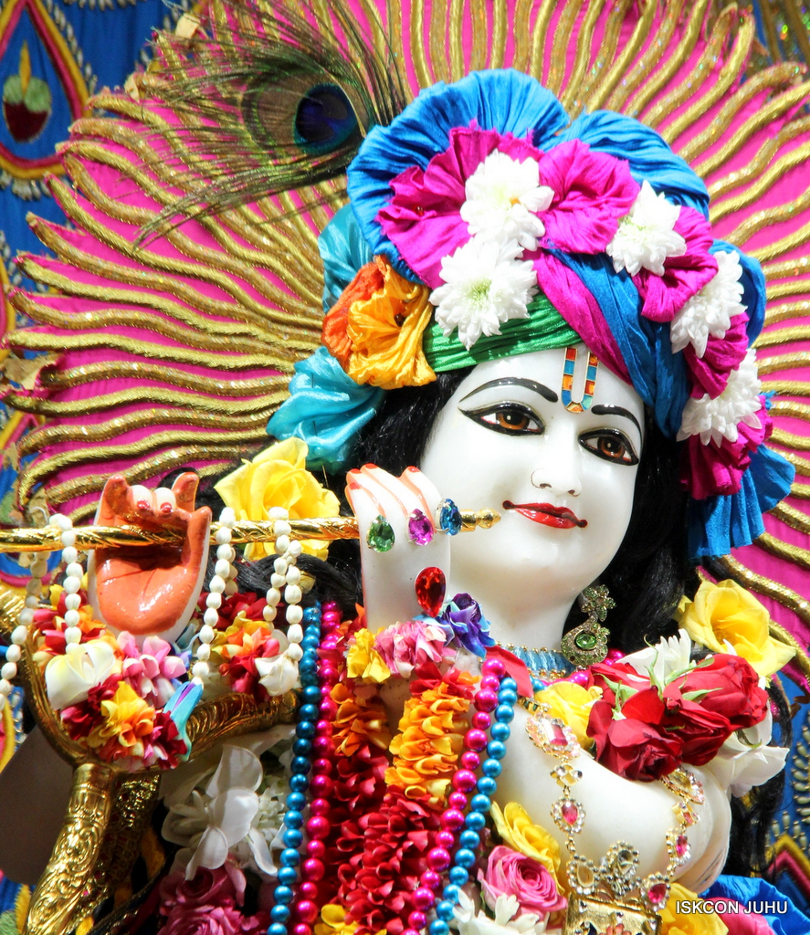 ISKCON Juhu Sringar Deity Darshan on 2nd Oct 2016 (18)