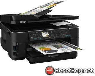 Reset Epson WorkForce WF-7515 printer Waste Ink Pads Counter