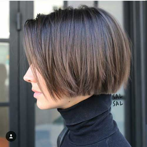 Great Blunt Bob Haircut You Have to See   Fashionre