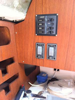 New AC Mains and Bilge Pump Controls