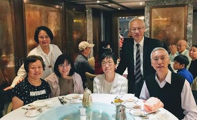 余曼彤訪港,2017年12月7日和同學在潮庭歡聚