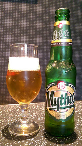 #beersofeuro2016, Albanian beer, Greek beer, Mythos, Gerry's Kitchen