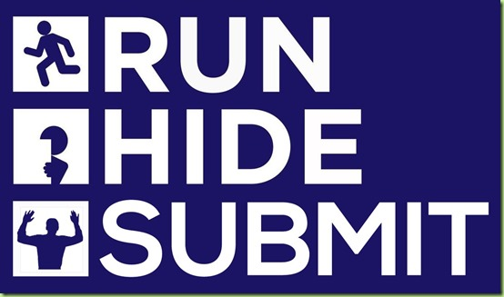 run hide submit