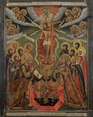 Икона «Литургия Господня».