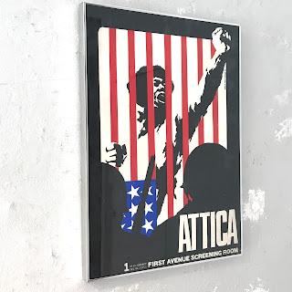 Ernest Pignon-Ernest 'Attica' Lithograph