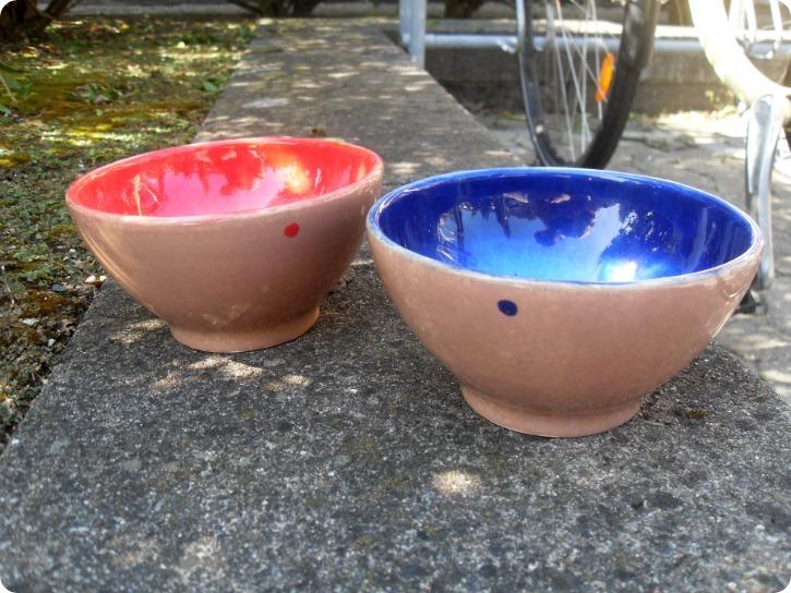 Emilies svampemalede skåle