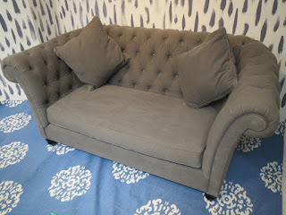 Grey Chesterfield Sofa