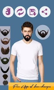 Muž Beard Knírky Changer - náhled