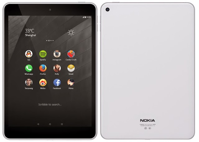 Nokia Launches Their First Android Tablet N1