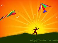 Makar Sankranti Wishing Images Wallpaper