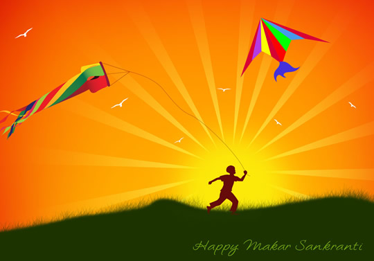 Makar Sankranti Wishing Images Wallpaper