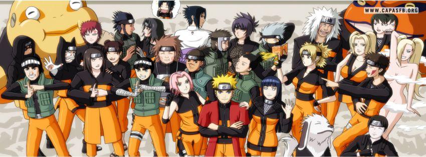 Capas para Facebook Naruto